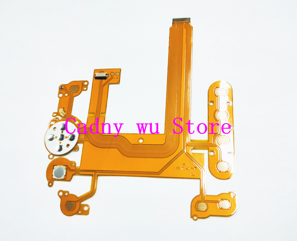 2019 Latest Design New Keyboard Button Rear Cover Lcd Flex Cable For Nikon D7000 Digital Camera Repair Part(with Socket) Elegant And Graceful