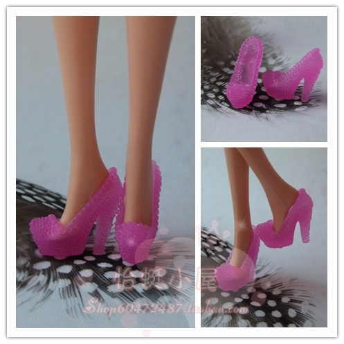 1/6 Doll Shoes Mix style High Heels Sandals Boots Colorful Assorted Shoes Accessories For Barbie Doll Baby Xmas DIY Toy 6