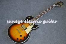 цена на Suneye Electric Guitar Vintage Sunburst Guitarra Electrica Custom Guitar With Gold Hardware In Stock