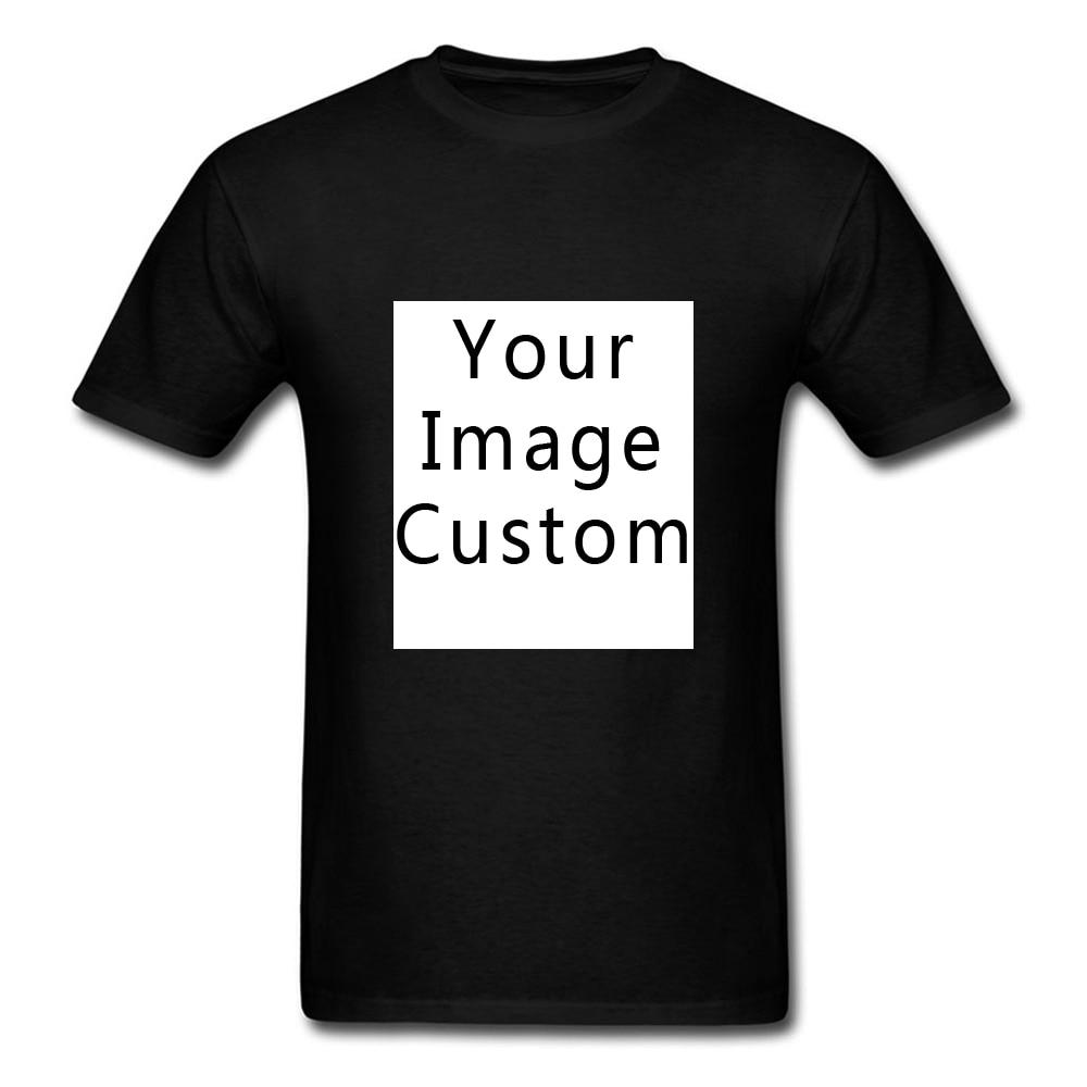 Футболка с логотипом «сделай сам», ваш собственный дизайн, Фотопечать, футболка для команды компании, рекламная футболка, 100% хлопок, мужские...