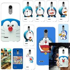 Милые мягкие чехлы из ТПУ с Аниме Doraemon для LG G2 G3 Mini G4 Stylus G5 G6 G7 ThinQ K4 K7 K8 K10 2017