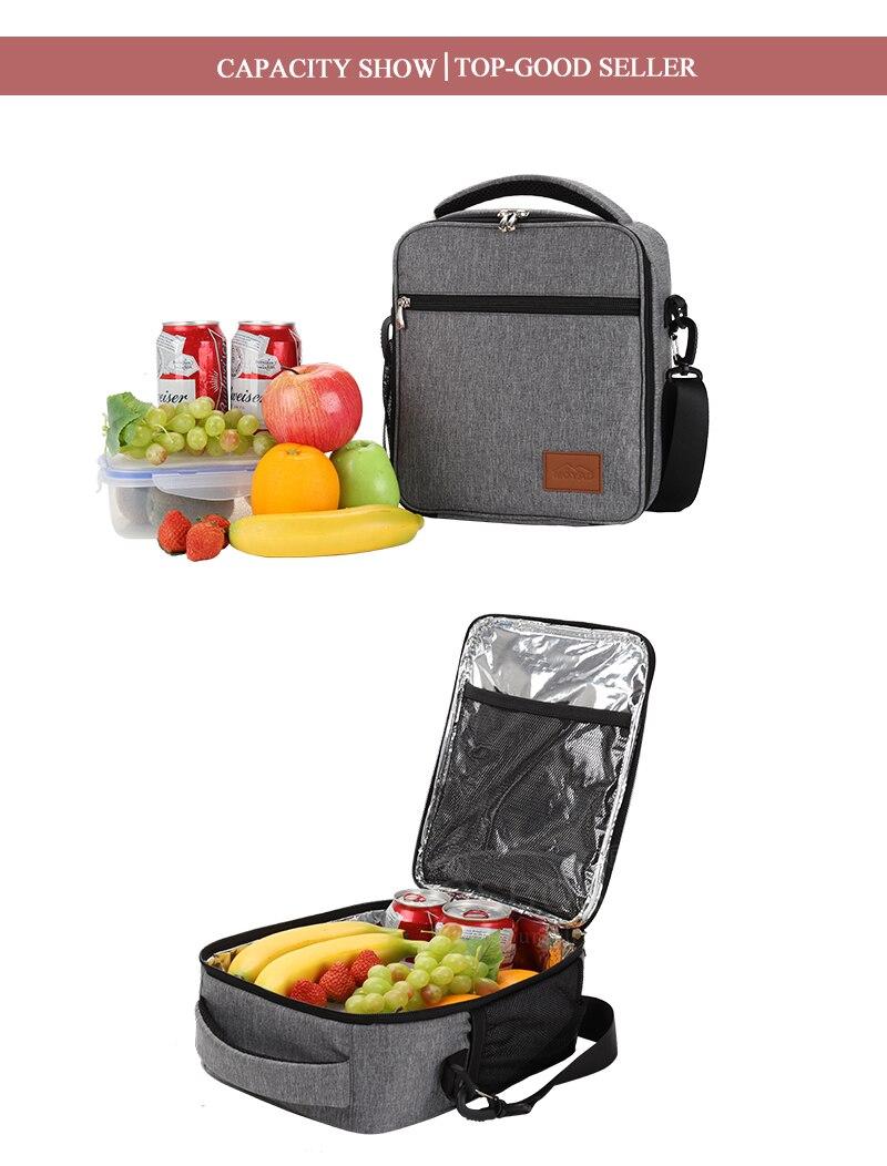 isolado sacos de comida tote sólida comida