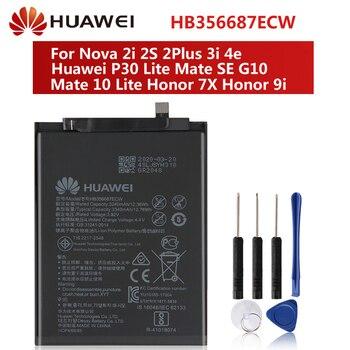 Original Battery HB356687ECW For Huawei Nova 2i 2S 2Plus 3i 4e Huawei P30 Lite Mate SE G10 Mate 10 Lite Honor 7X Honor 9i