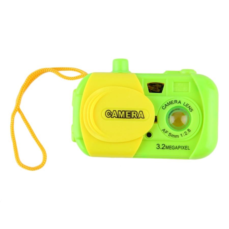 Лидер продаж! Детская обучающая камера для детей, Обучающие Развивающие игрушки в виде животных, разные цвета, новинка,, забавная Подарочная игрушка - Цвет: Зеленый