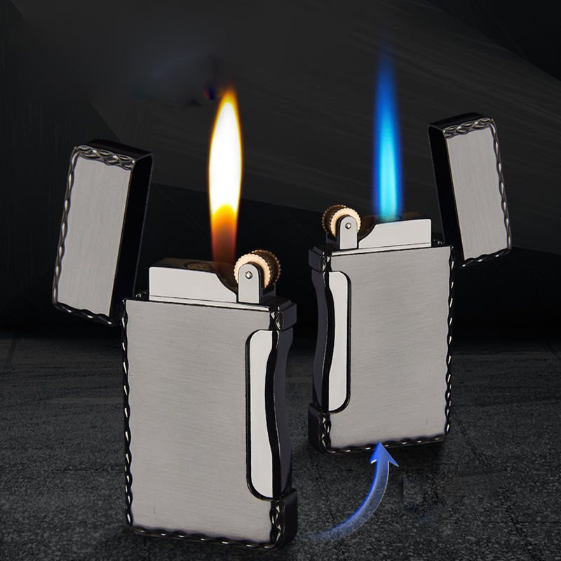 Cigar Cigarettes Lighter Turbo Torch Electronic Lighters Smoking Accessories 2019 New Creative Metal Gas Lighter Gadgets For Me