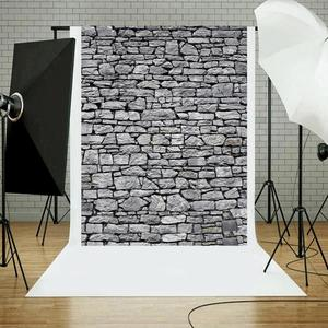 Image 4 - Brick Stone Texture Wall Photography Backdrops Wooden Floor Backgrounds for Toy Photo Studio Baby Shower Newborn Children Photo