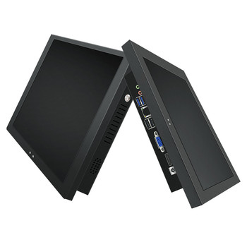 19 inch touchscreen capacitive resistive Android fanless wall mount embed desktop Front Bezel industrial touch screen panel PC