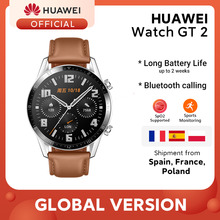 In Stock Original HUAWEI Watch GT 2 GT2 GPS 14 Days Working Phone Smart Call Blood Oxygen Heart Rate Tracker For Android iOS