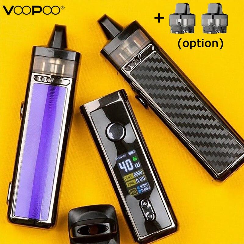 D'origine VOOPOO VINCI Mod Pod Kit Avec 1500mah 5.5ml Capacité VW Vape Pod Système ajustement 0.3ohm PnP bobine Vs Glisser Nano/Shogun