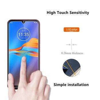 Перейти на Алиэкспресс и купить Закаленное стекло для Motorola Moto E6 E 6 Plus Защитная пленка для экрана 9H для Motorola Moto E6Plus