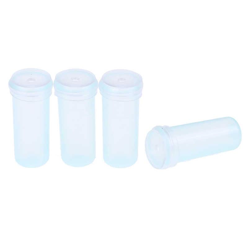 25 قطعة أنبوب زهرة 4 سنتيمتر/7 cmBlue أنبوب مياه بلاستيكية الزهور النبات التغذية إبقاء الطازجة جذمور أنبوب المائية الحاويات ديكور المنزل