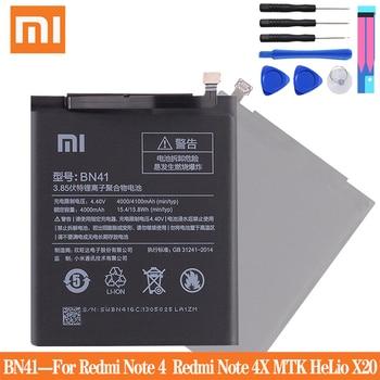 Xiao mi BN41 Original Telefon Batterie Für Xiao mi Red mi Hinweis 4 4X 3 Pro 3S 3X 4X mi 5 BN43 BM22 BM46 BM47 Ersatz batterien