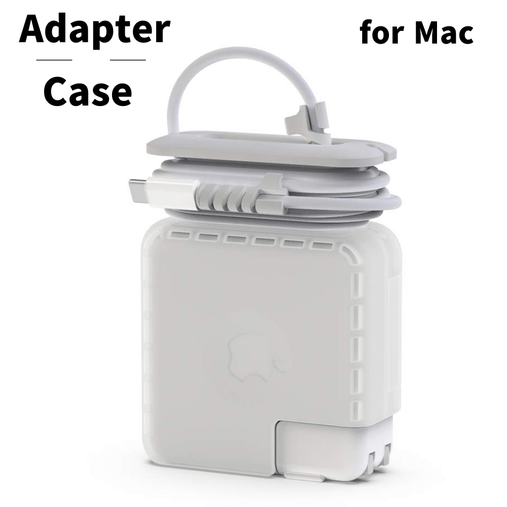 Travel Cord Organizer Compatible With Apple Macbook Charger, Protective Case For Magsafe USB C Power Adapter 61W 60W 16.5V 20.3V