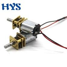 цена на Gear Motor DC 3V 210rpm Mini Electric Motors 6V 400rpm High Torque Reducer 6 V Volt DC Motor N20 for DIY Robot Models Toy cars