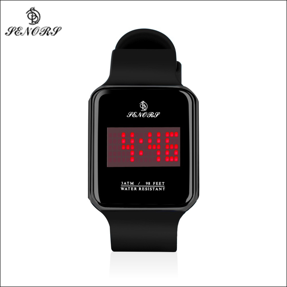 Senors Digital Watch Sport Watch Men Outdoor Digital Watches LED Electronic Wristwatch Military Alarm Male Clock Digital