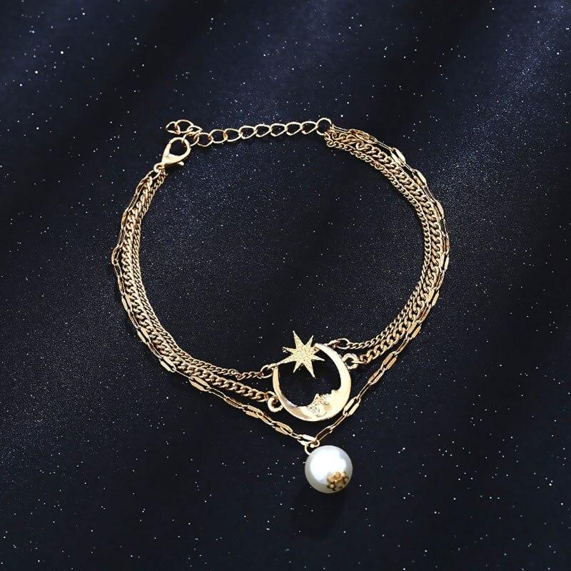 珍珠脚链-2