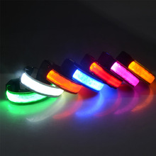 Neon Jewelry Arm-Band Party-Light Luminous-Bracelets Running Led-Flashing Outdoor Usb-Charging