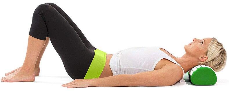 acupressure massage yoga mat pad, acupressure, nbsp, points, more, cushion, pillow, back, neck, relieve, convenient - Hcc1483eb6ab1417e83838faabf258b72P - Acupressure Massage Yoga Mat Pad - Fititudestore