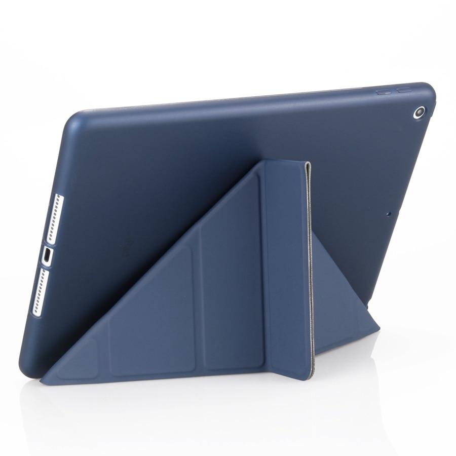 Case Film--Pen Smart-Stand-Cover Silicon Film--Pen for 7-7th/A2200/A2198/.. iPad Apple
