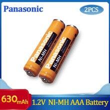 Battery-Charging-Times NI-MH Rechargeable Panasonic Aaa 630mah Original 2PCS 1200-Times