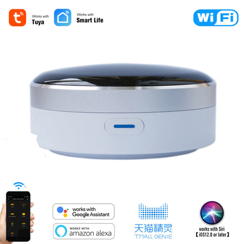 Universal Intelligent Smart Remote Controller WIFI+IR Switch 360 Degree Smart Automation Mi Smart Home Google Assistant Alexa