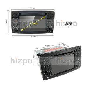 Image 5 - أندرويد 10 مشغل أسطوانات للسيارة راديو لتحديد المواقع لمرسيدس بنز GL ML الفئة W164 X164 ML300 350 450 GL320 USB الصلب عجلة التحكم DVR كاميرا مجانية