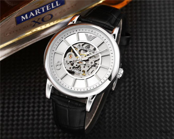 Brand Armani- High Quality automatic mechanical Famous Top Watches Mens Womens Watch Steel Band Wrist Men Sports Women 003