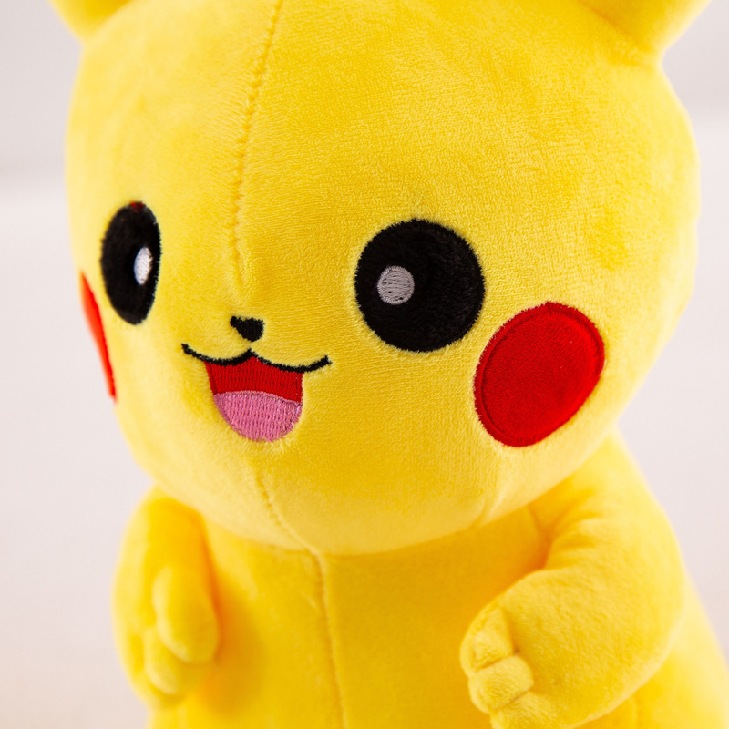 55cm Pikachu Movie Plush Doll Animal Plush Stuffed Pokemon pelucia Child birthday gift to appease the doll Cartoon toy figurine 3