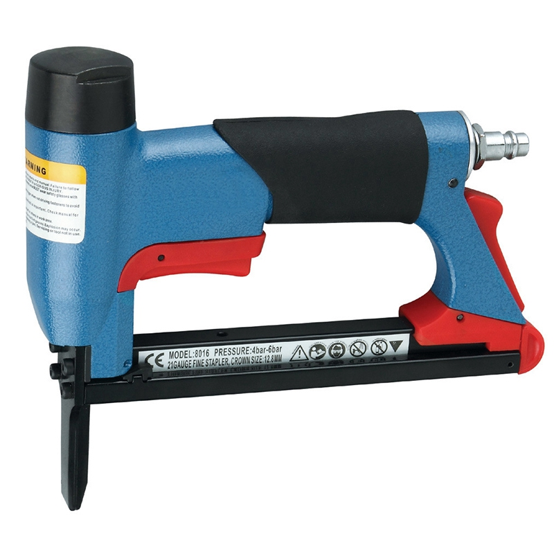 8016LN Long Mouth BeA Pneumatic Air Stapler Nailer Fine Stapler Tool for Furniture Nailer Tool Pneumatic Air Power Tool