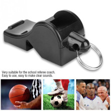цена на ABS Non-toxic Whistle Seedless Basketball Soccer Referee Whistle Professional Training Sports Whistle Keychain Cheerleading