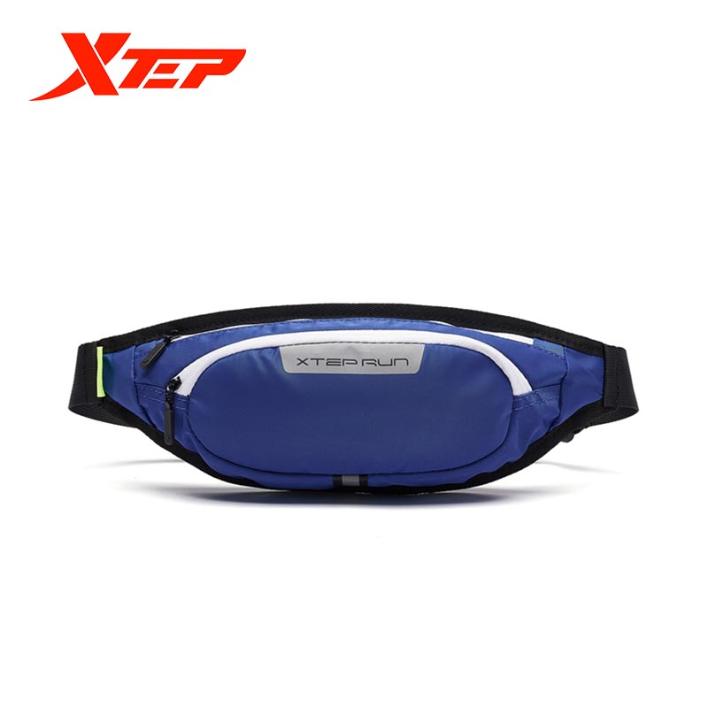 Xtep Men's And Women's Crossbody Sports Running Waist Bag Fitness Bag Fashion Zipper Bag Fashion Bag 881437149092