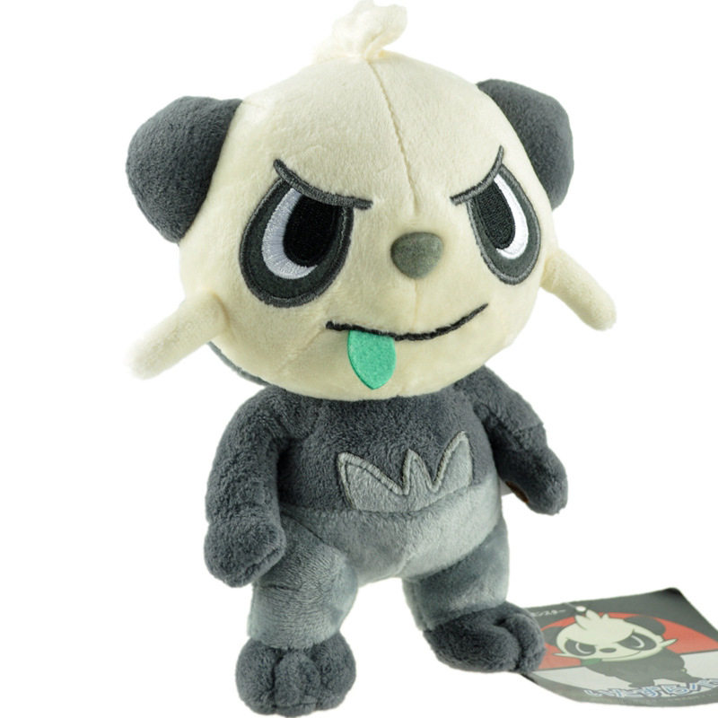 <font><b>20</b></font> cm Kawaii Panda Plush Toys Anime PP Cotton Stuffed Animals Soft Doll Cute Gifts For Children Birthday Present Christmas <font><b>Day</b></font> image