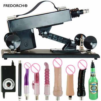 FREDORCH Sex Machine Gun With 6 Dildo Vagina Cup Toy For Adults Fuckmachine Sex Vibrator Love Machine Women Masturbator Sex Toys - DISCOUNT ITEM  35% OFF All Category