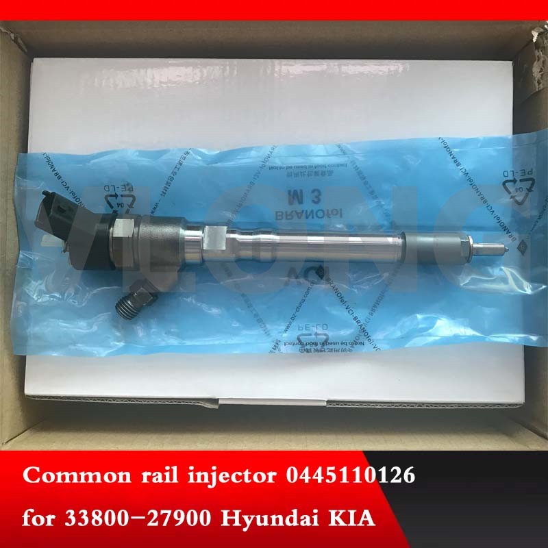 0445110290 0445110126 common rail injector for 33800 27900 Hyun dai K1A in Fuel Injector from Automobiles Motorcycles
