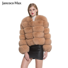 Fur Jacket Coat Real-Fox-Fur Winter Women Luxury Saga S1797 Outerwear Top-Quality New-Arrival