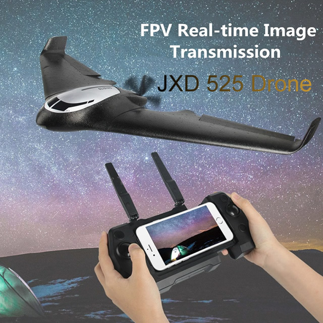 JXD525 Big RC Camera Drone Optional Combination Aerial Photography 1080P Brushless Motor HD GPS Remote Control Plane AOSST image