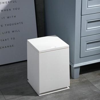 Typ Push kosz na śmieci gospodarstwa domowego łazienka pojemniki na odpady kuchenne typ prasy worek na śmieci uchwyt kosz na śmieci do kuchni domowej tanie i dobre opinie CN (pochodzenie) Prostokątne Stojący Ekologiczne Z osłoną do zwijania Waste Bin Wciskany