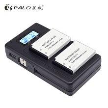 PALO LPE17 LP-E17 LP E17 kamera batterie Für Canon EOS 750D 200D 760D EOS T6i T6S M3 M5 X8i 8000D KUSS X8i mit LCD Ladegerät