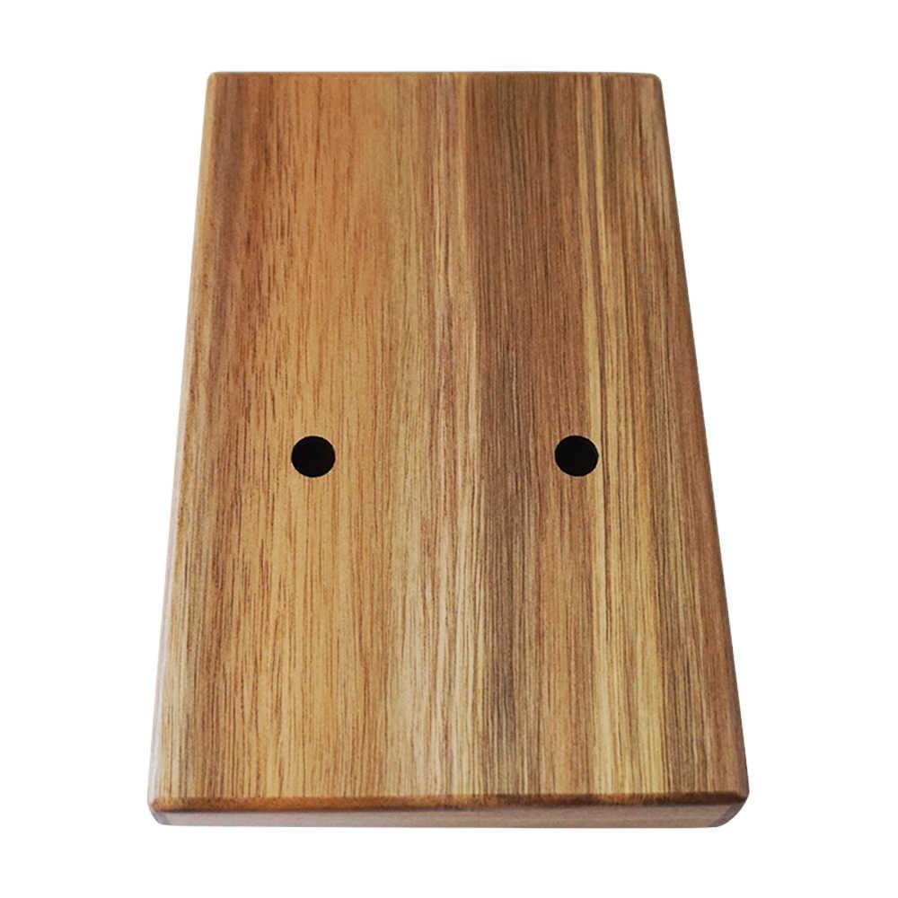 Aiersi Gecko Solid Koa 17 klawiszy Kalimba kciuk fortepian Instrument muzyczny cena fabryczna calimba przenośny palec fortepian