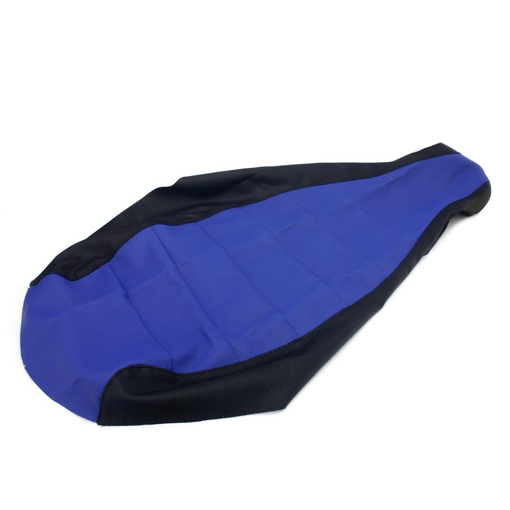 BIKINGBOY ATV Quad Blue & Black PVC Gripped Gripper Soft Seat Cover For Yamaha YFM 660 R Raptor 2001 2002 2003 2004 2005 01-05