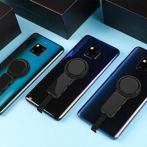 Image 5 - Type C double adaptateur anneau support 3.5mm chargeur Audio convertisseur de charge pour Huawei Mate 10 Pro Samsung S8 + Type C téléphone Android