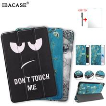 Tablet case for ipad mini4 mini5 tablet Flip cover Soft silicone bottom Back PU Leather Smart Cover Auto Sleep