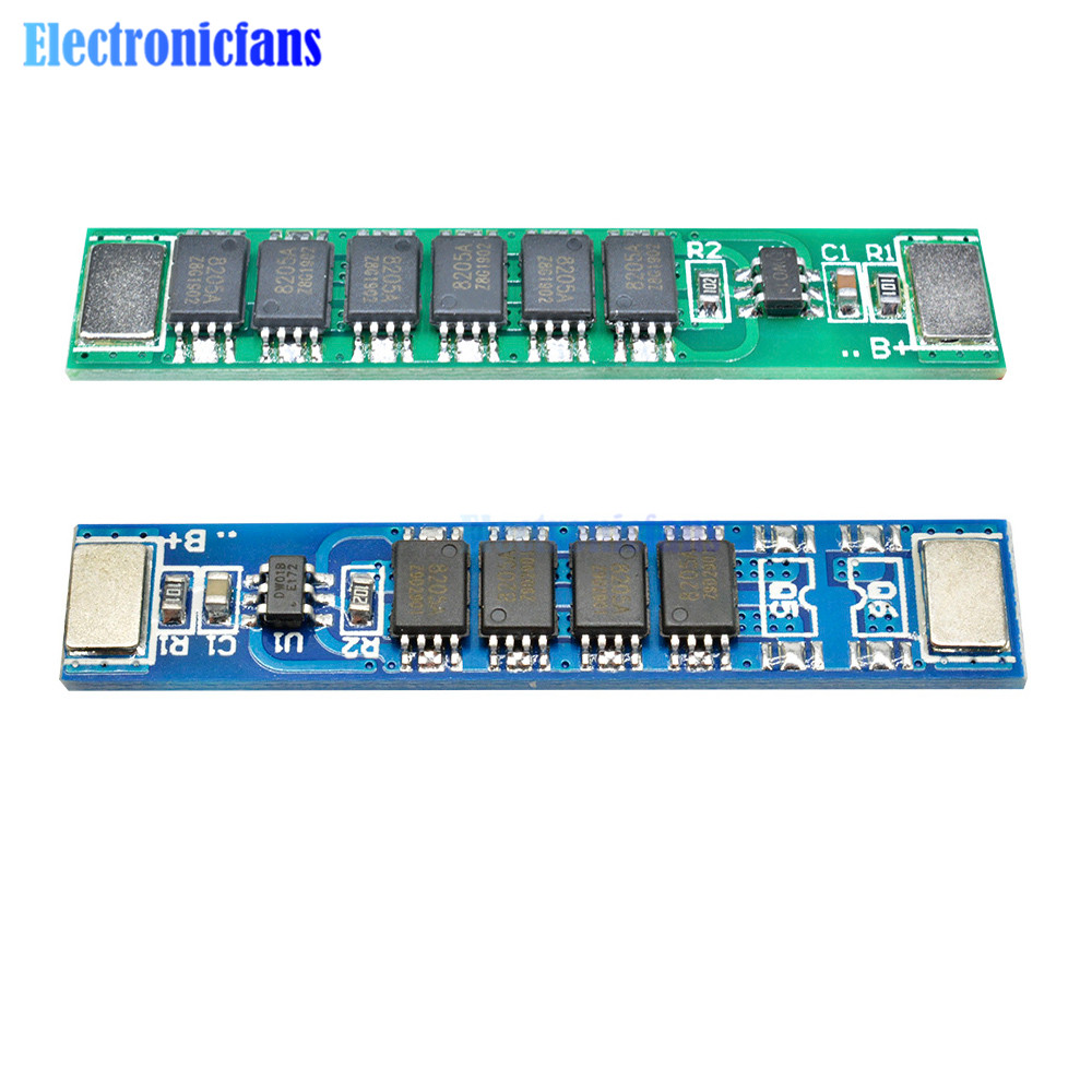 1S 3.7V 10A/15A BMS <font><b>18650</b></font> Li-ion Lithium Battery Charging Protection <font><b>Board</b></font> 4/6 Mos Lipo <font><b>Power</b></font> <font><b>Bank</b></font> Cell image