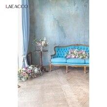 写真撮影の背景花花瓶ソファカーテンセメント壁ベビー肖像ルームインテリアための写真の背景フォトスタジオ