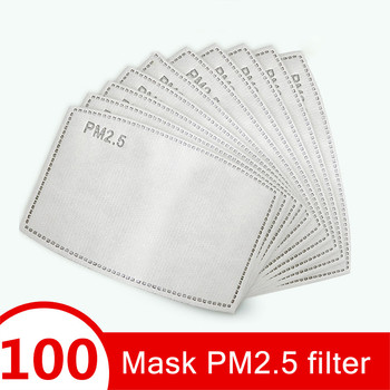 Cycling Face PM 2.5 Mask Filter Anit-fog Dustproof Bicycle Respirator Reusable  Masks  Sports Protection Pollution Masks