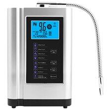 알칼리성 물 Ionizer 발전기 기계 정화기 pH 3.5 10.5 알칼리성 산 최대 650mV ORP LCD 터치 워터 필터 생산