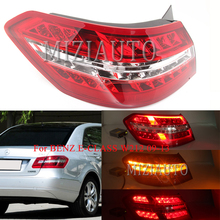 MIZIAUTO Rear Tail Light For BENZ E-CLASS W212 09-13 Sedan LED red New Brake Bumper Stop Lamp Warning