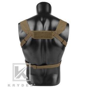 Image 3 - KRYDEX MK3 טקטי החזה מיני ספיריטוס ארומטיים Airsoft ציד אפוד צבאי ריינג טקטי Carrier Vest עם מגזין פאוץ