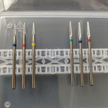 6 Types Tungsten  Carbide Nail Drill Bit Electric Nail Mills Cutter for Manicure Machine Nail Files Accessories
