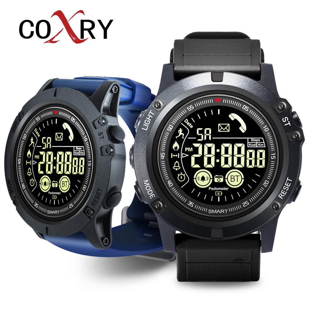COXRY Professional Sport Smart Watch Men Digital Smartwatch Ip68 Waterproof 2 Years Standby Watches Health Wristband Android Ios|Smart Watches| |  - title=